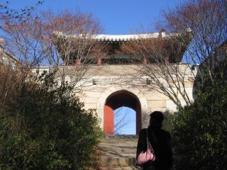 金井山城の東門