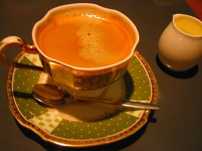 茶庭のコーヒー