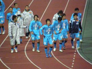 充実感に満ち溢れてた横浜FCイレブン