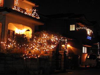 クリスマスお家ディスプレイ