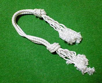 手作りロープ