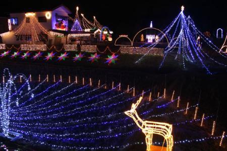 茂木町の電飾