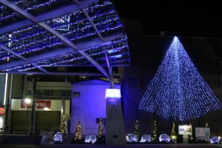 中心市街地ライトアップ2007