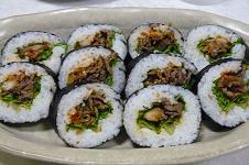 韓国風巻き寿司