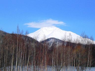 冬の旭岳(イメージ)