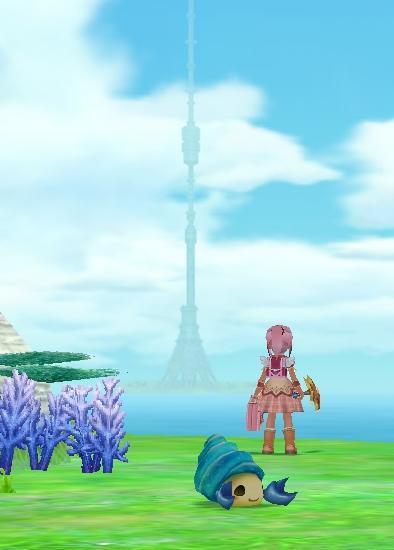 天まで届く塔