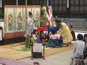 ぱこ母結婚式1