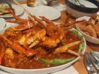 渡り蟹のチリソース
