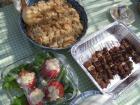 トマトのファルシー&豚カシラ