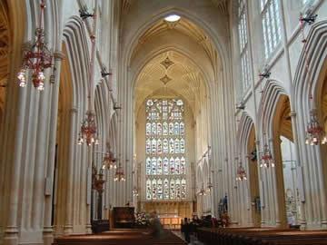 Bath Abbey内部