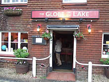 The Globe on the lake