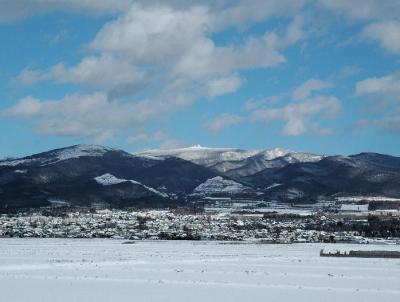 雪の横津岳