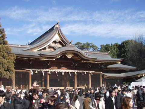 寒川神社に参拝