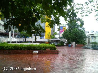 新潟市の万代シティバスセンター2階