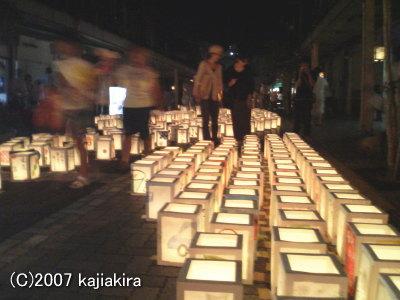 新潟市古町-千灯まつり2007-02