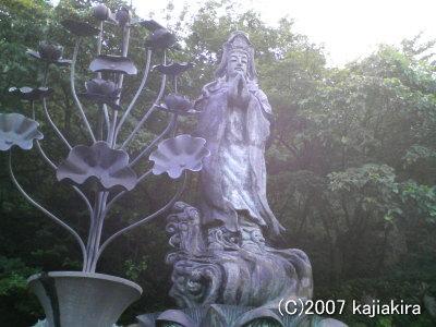 胎内観音1-新潟県胎内市