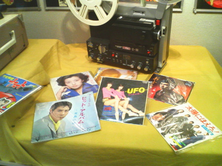 昭和なつかし展-ヒット曲のシングル盤