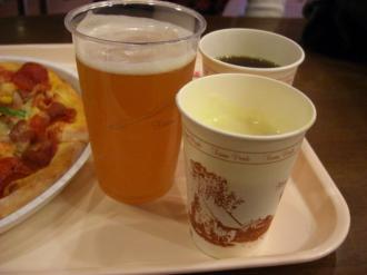 ビールコーヒーコーンスープ