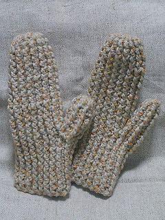 手編み手袋その2