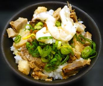 チャーシュー丼米