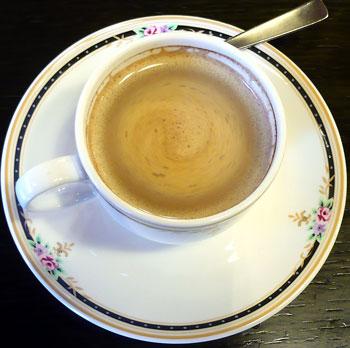ライダー丼コーヒー