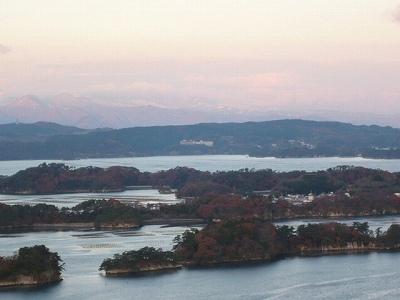 日本三景松島~東松島市大高森