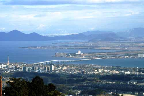 比叡山からの琵琶湖1