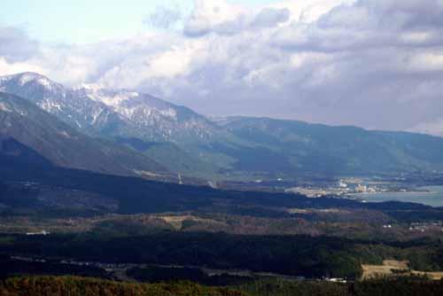 比叡山から琵琶湖2