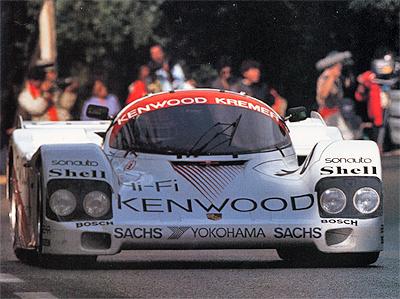 1987 LE MANS 24h KENWOOD・クレマーポルシェ962C