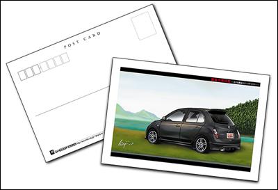 Autech 12SRのポストカード