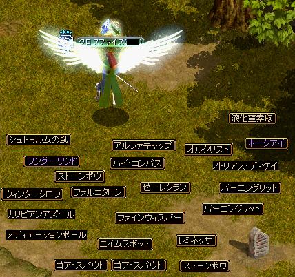 [2007.11.25]ドロップまとめ