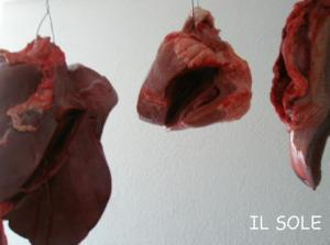 レバーと心臓