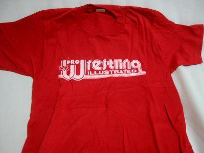 プロレスリング イラストレイテッドのTシャツ