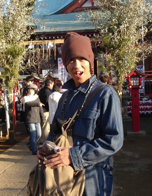 小太郎の初詣