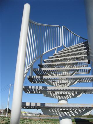 椎柴風車螺旋階段