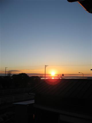 20071205の朝陽