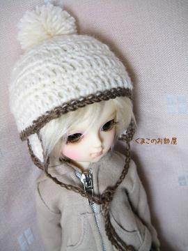 絹ちゃんの帽子♪