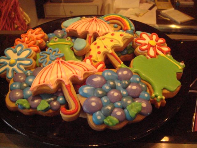 アイシングクッキーたち
