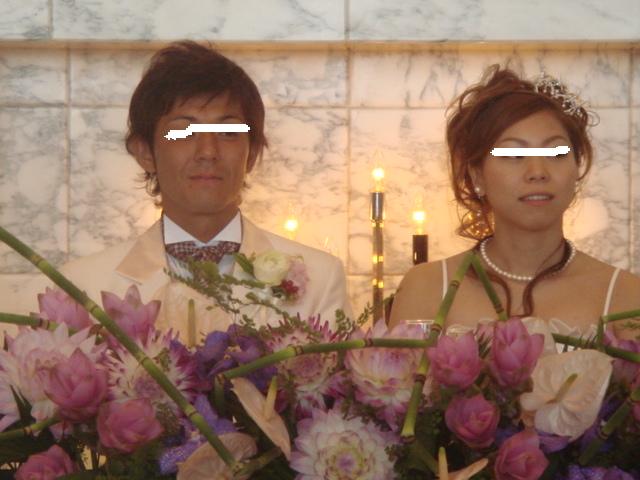 アッシーさん結婚式