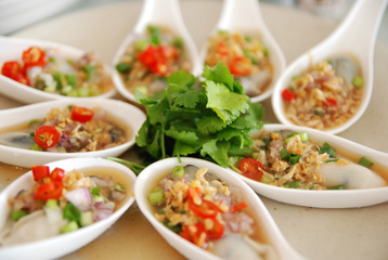 タイ風牡蠣