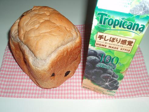 Re.ぶどうジュースdeぶどうパン相棒と