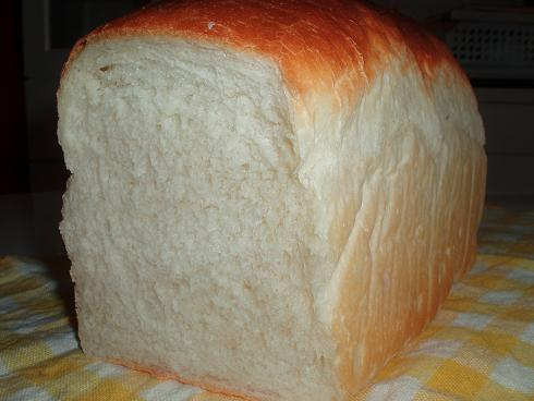やっと膨らんだ!パネマザ食パン断面層