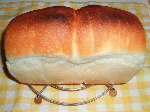 やっと膨らんだ!パネマザ食パン
