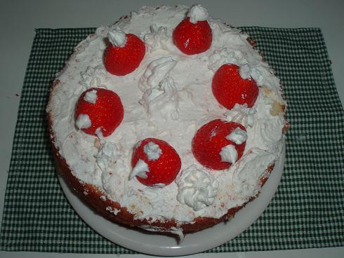 子供達作 クリスマスケーキ
