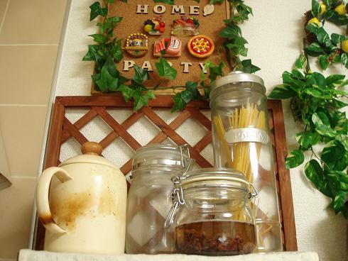 ぶどう酵母 キッチンのお気に入りの場所