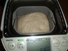 3回目 ホシノシンプル食パン 焼きあげ直前