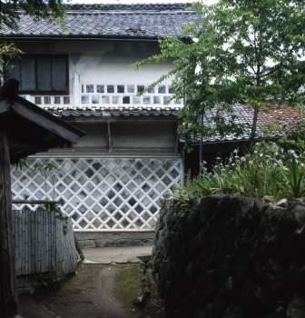岩村のなまこ壁