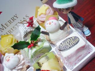 ケーキいっぱいだC~vV