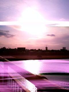 紅き輝く太陽