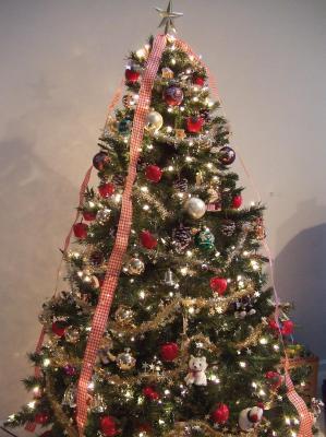 我が家のクリスマスツリー☆